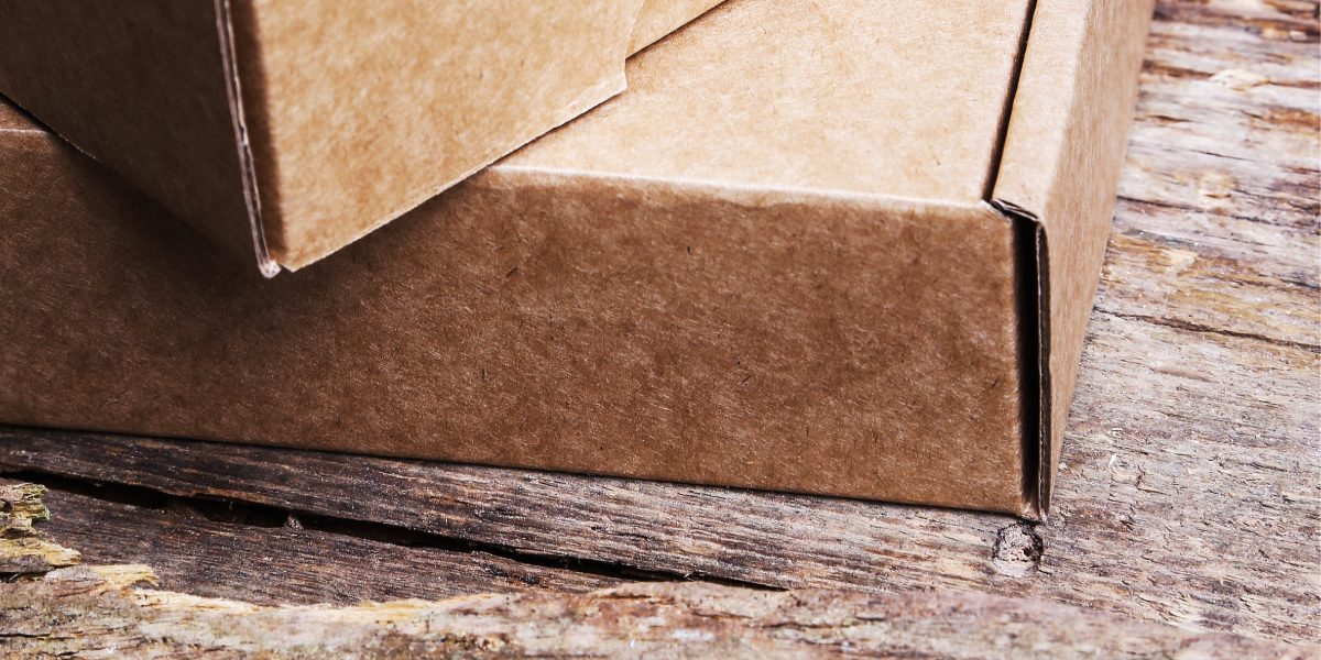 plain boxes to show how packaging can impact your brand